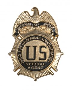 Drug Enforcement DEA Special Agent Badge
