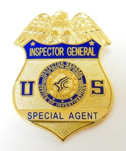 HHS OIG Badge