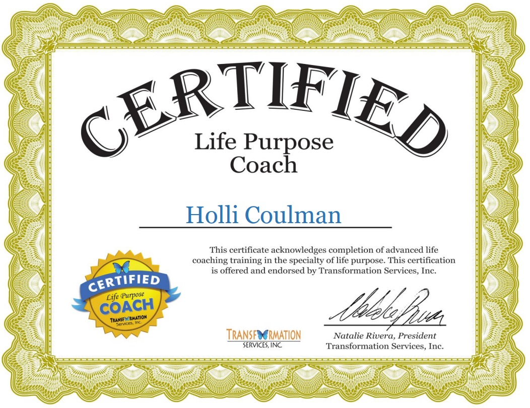 Holli Coulman Life Coach