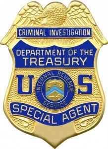 IRS CID Badge