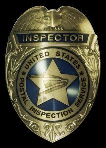 US Postal Inspector Badge