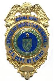 Department of Energy OIG Badge