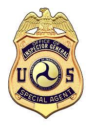 Department of Transportation OIG Badge