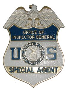 Department of Labor OIG Badge