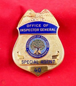 Department of Education OIG Badge