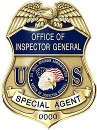 Small Business Administration OIG Badge