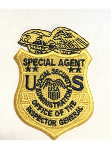Social Security OF Badge