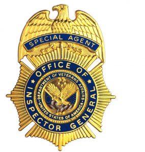 Dept of Veterans Affairs OIG Badge