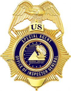 GSA General Services Administration OIG Badge